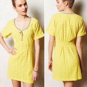ANTHROPOLOGIE Ace & Jig Traipse Mini Dress XS